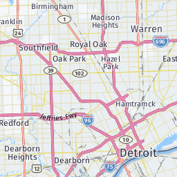 Detroit: top tourist attractions and sightseeing route planner ... on